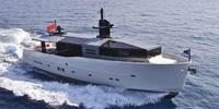 Arcadia 85  - 2010 (SOLAR)  - MAN R6 InvZF 2 X 730 Hp, 2 600 000 €   - Profil