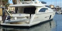 FERRETTI 681  - 2005 (Dabliù)  - MAN V12 1360 CRM 2 X 1 360 Hp, 750 000 € VAT not paid