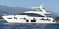 Princess 68 - 2017  - MAN V8 2 X 1200 Hp, 2 890 000 € Leasing en cours