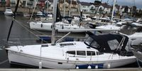 Hunter Legend 39  Bilge Keel - 2010  - Yanmar  2 X 39 Hp, £ 125 000 VAT paid  - Alongside