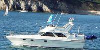 Princess 435 - 1990  - VOLVO PENTA TAMD 71A 2 X 358 Hp, £ 99 950 VAT paid  - Princess 435