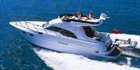 Sealine F43 - 2006  - VOLVO PENTA D6-370 2 X 370 Hp, £ 199 950 VAT paid  - Sealine F43 - Brochure Shot
