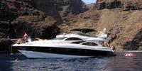 Sunseeker MANHATTAN 74 - 2001  - MAN D2842 LE 404 2 X 1 300 Hp, £ 350 000 VAT not paid  - Sunseeker Manhattan 74
