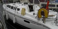 Hunter Legend 336 - 1997  - Yanmar 3GM 2 X 27 Hp, £ 39 000 TVA Payée