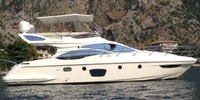 Azimut 47 Fly - 2008  - CATERPILLAR C9 2 X 575 Hp, 450 000 € TVA Payée