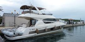 Jeanneau PRESTIGE 510 - 2011  - VOLVO PENTA D9-575 2 X 575 Hp, 530 000 € Leasing en cours