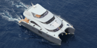 Sun Reef Catamaran moteur sun reef 60  (Catamaran Sun Reef a moteur )