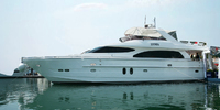 Horizon 76 Flybridge  (Horizon 76 flybridge)