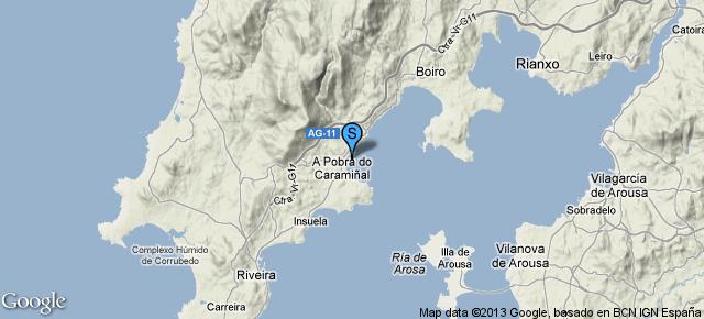 Puerto De A Pobra do Caraminal SAN LAZARO