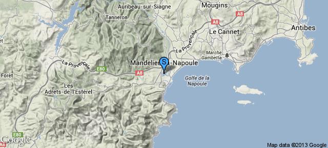 Port de Cannes Marina Mandelieu