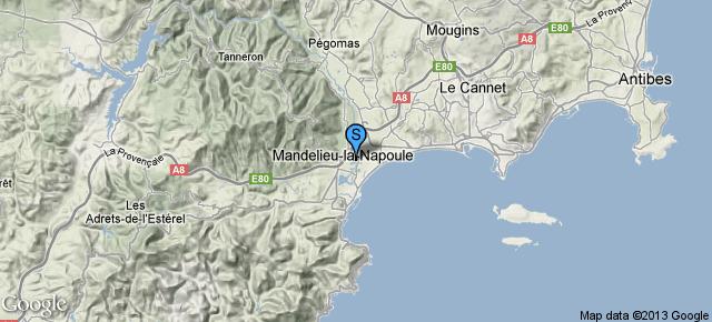 Port Inland Mandelieu-la-Napoule