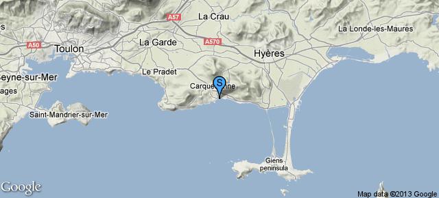 Port Les Salettes Carqueiranne