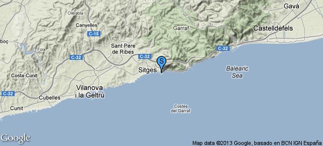 Port de Sitges aiguadolç Sitges