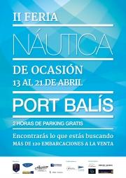 FERIA NÁUTICA DE OCASIÓN PORT BALIS